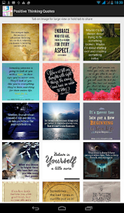Positive Thinking Quotes - screenshot