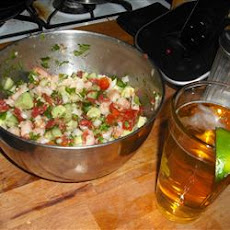 Jose's Shrimp Ceviche
