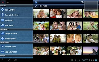 Screenshot of Panasonic TV Remote 2