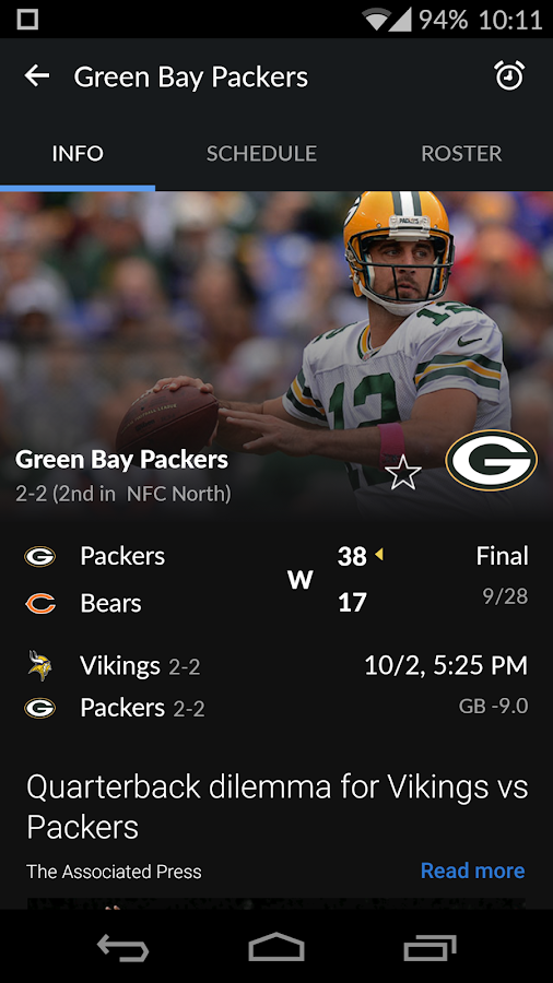 Yahoo Sports Screenshot 6