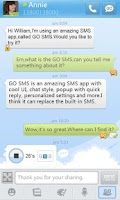 Screenshot of GO SMS Pro GO1.0 Theme