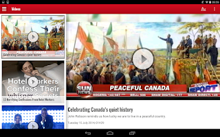 Screenshot of Toronto SUN+