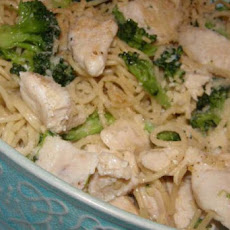 Chicken, Broccoli & Angel Hair Pasta