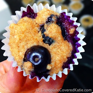 Blueberry Mini Muffins