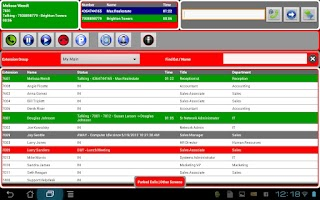 Screenshot of Bridge Operator Console 2.0