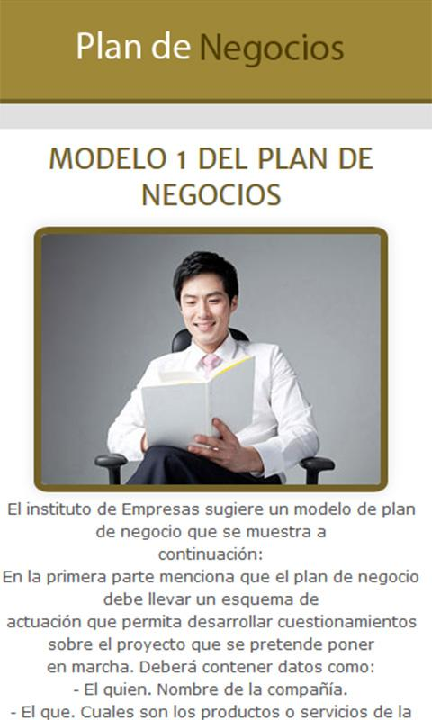 model essay bi