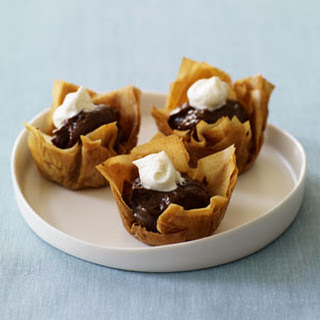 Chocolate Phyllo Cup Desserts Recepten | Yummly