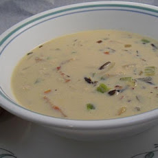 North Woods Chicken and Wild Rice Soup - OAMC