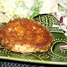 Crispy Herb-Coated Pork Chops