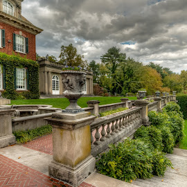 Old Westbury Gardens by Linda Karlin - Buildings & Architecture Public & Historical ( nature, architecture, landscape )