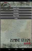 Screenshot of Zombie Chaos Alpha RTS Game