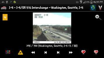 Screenshot of Cameras Seattle & Washington