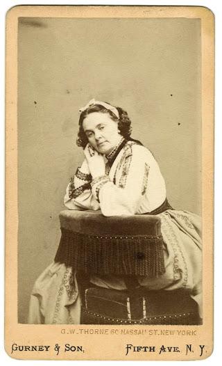 Harriet Hosmer, ca. 1863