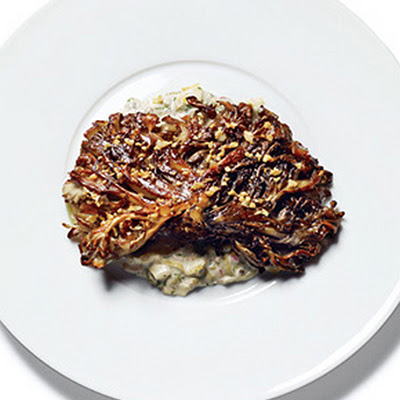 Seared Maitake Mushrooms