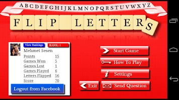 Screenshot of Flip Letters
