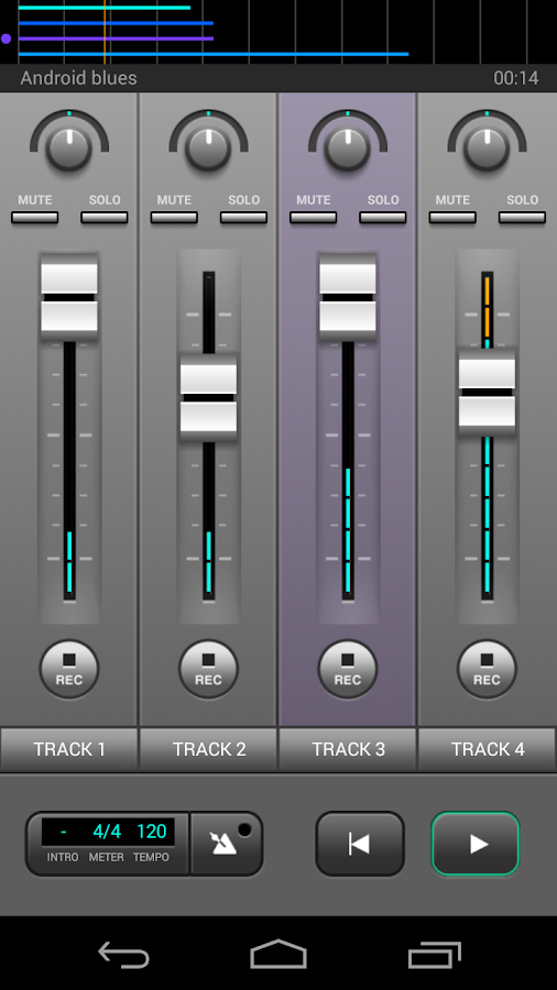 J4T Multitrack Recorder Screenshot 0