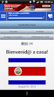 Screenshot of Costa Rican Guide
