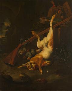 RIJKS: Melchior d' Hondecoeter: painting 1695