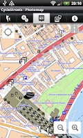 Screenshot of CycleStreets UK Map Pack