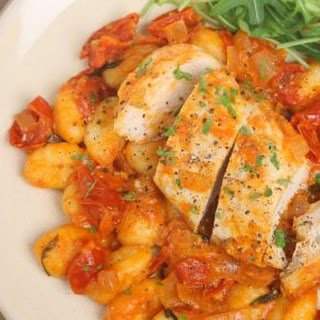 Slow Cooker Provencal Chicken and Beans