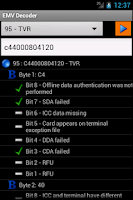 Screenshot of EMV Decoder