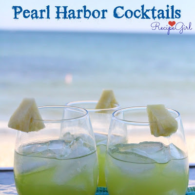 Pearl Harbor Cocktails