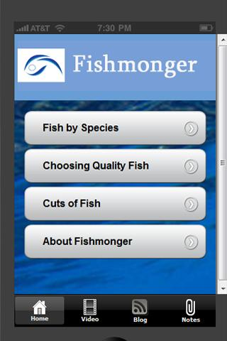Fishmonger - Info for Chefs