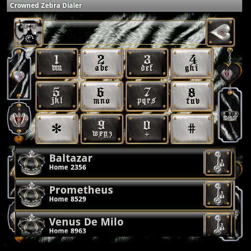 加冕斑馬撥號 個人化 App LOGO-APP試玩