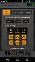 Screenshot of SureFire Alarm Clock