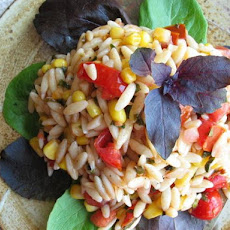 Orzo Salad With Basil-Sherry Vinaigrette
