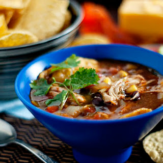 Chicken Tortilla Soup With Enchilada Sauce Recipes