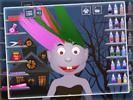 Screenshot of Monster Hair Salon 2