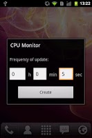 Screenshot of CPU Monitor