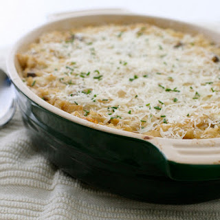 Mushroom and Brown Rice Casserole