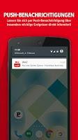 Screenshot of WAZ mobil