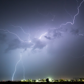 Mandurah Light Show by Michael Beazley - News & Events Weather & Storms