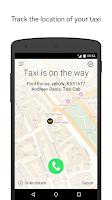 Screenshot of Yandex.Taxi