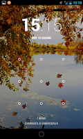 Screenshot of autumn river live wallpaper