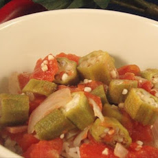 The Lady and Sons Okra and Tomatoes ( Paula Deen )