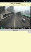 Screenshot of Traffic Condition of Hong Kong