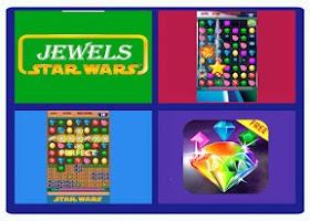 Screenshot of Jewels Star Wars