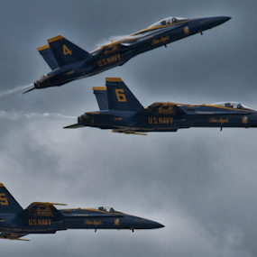 Fierce Angels by Theodore Schlosser - Uncategorized All Uncategorized ( fa18, jet, blue angels )