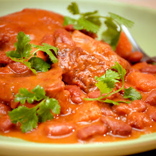 Puerto Rican Pork and Beans