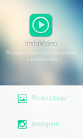 Screenshot of InstaVine-Instagram slideshow