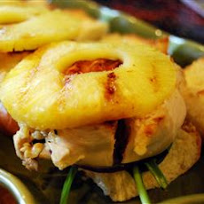 Grilled Chicken Pineapple Sliders