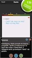 Screenshot of mFISZKI Angielski Słownictwo 1