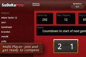 Screenshot of SudokuPDQ™