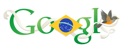 Google Doodle Brazil Independence Day 2013