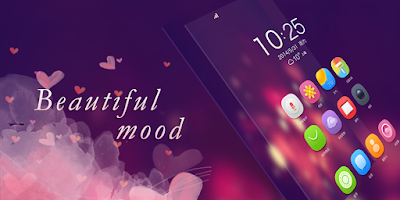 Screenshot of Beautiful Mood GO Theme