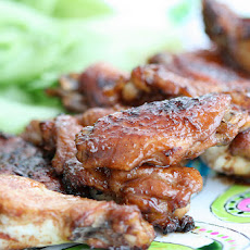 Teriyaki Chicken Wings (Crock Pot / Slow Cooker Option)